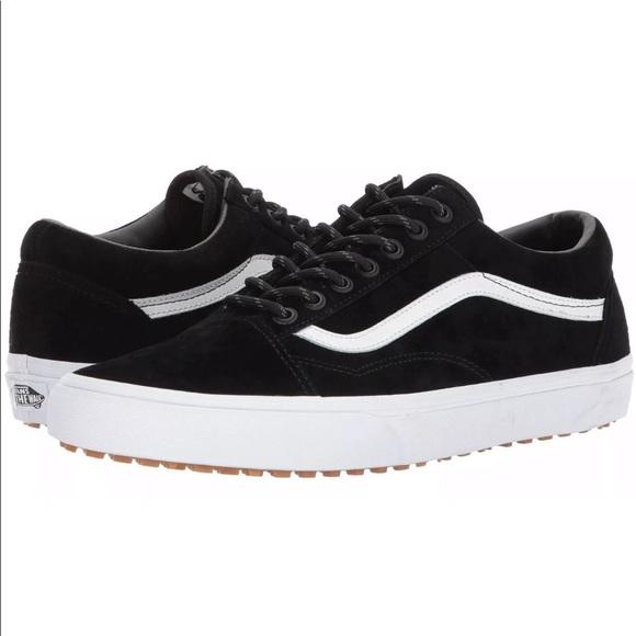 346b4c24be9 Vans Men s Old Skool MTE Black White Shoes